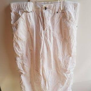 Women's Size 14 average Faded Glory Brand White